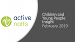 Active Lives Survey Children and Young People Nottinghamshire Dec 18