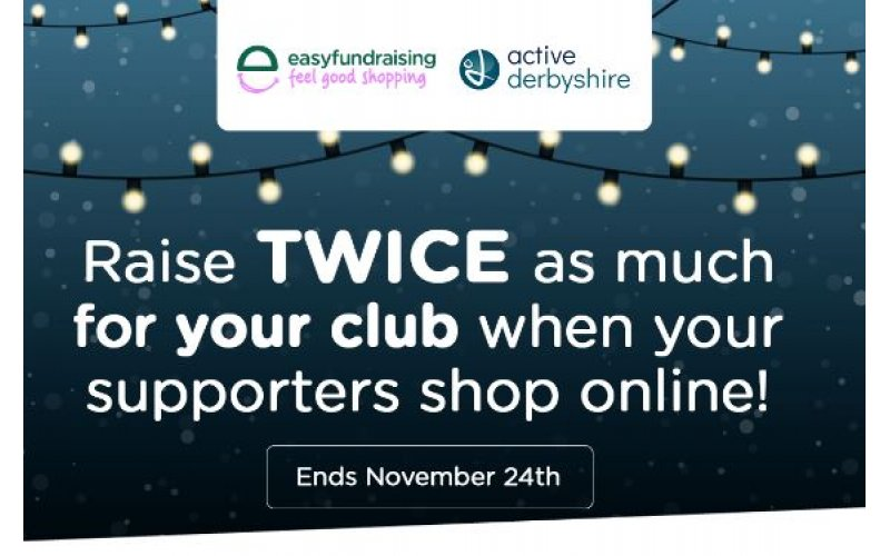 There's not long left to WIN a £50 bonus donation through easyfundraising