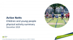 Active Lives Survey Children and Young People Nottinghamshire 18 19 Dec 19
