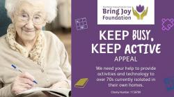 Support for organisations working with older people - Bring Joy Foundation