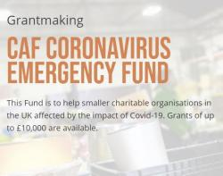 CAF Coronavirus Emergency Fund: Paused