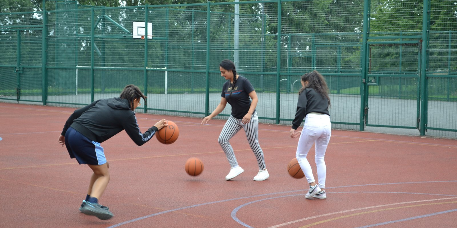 Supporting young people to be active