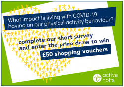 New survey launched to better understand how Covid-19 has affected physical activity levels