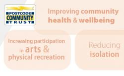 Grants of up to £20,000 for Community Arts, Sports and Physical and Mental Health Projects
