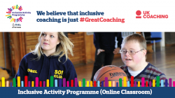 New online Inclusive Activity Programme training now available