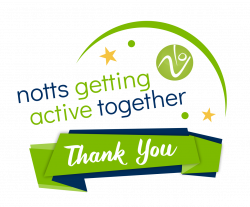 Notts Getting Active Together - Thank You